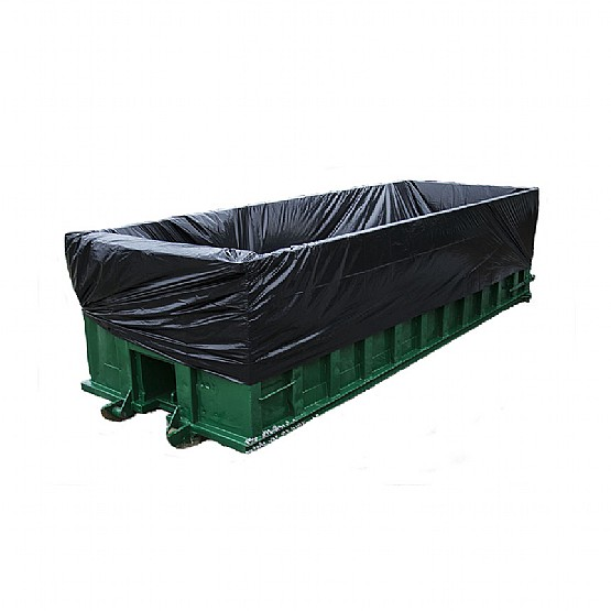 Green Container with Liner